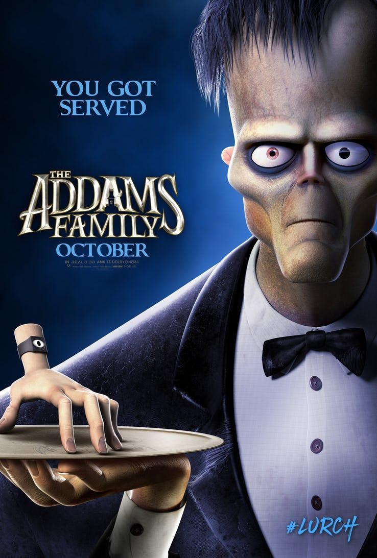Семейка Аддамс, постер № 13