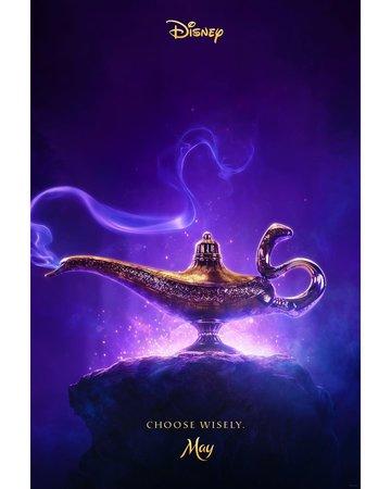 Постеры фильма «Аладдин»