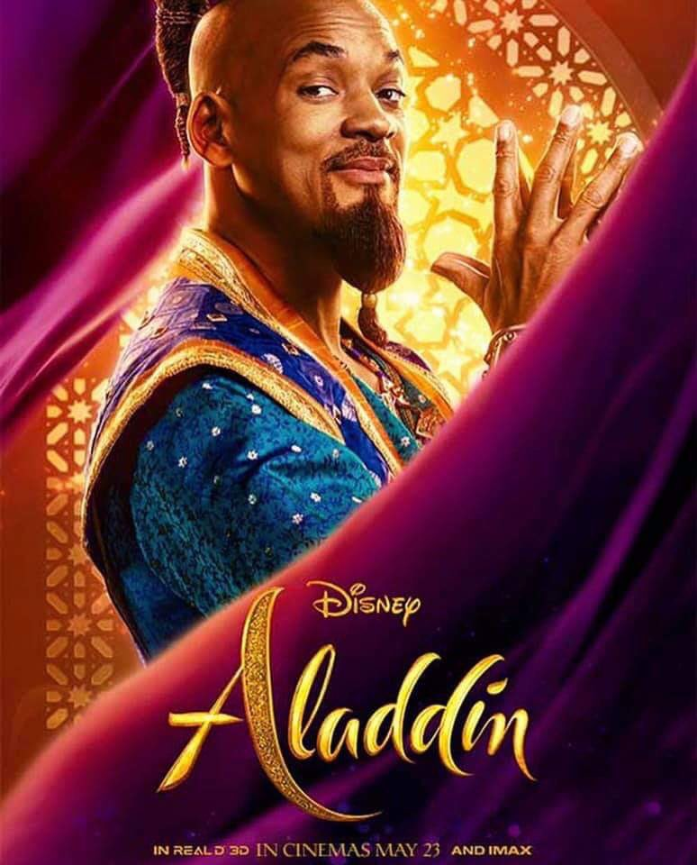 Аладдин, постер № 9