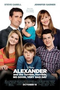 Постеры фильма «Александр и ужасный, никчёмный и очень плохой день»