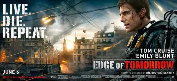 Постеры фильма «Грань будущего»