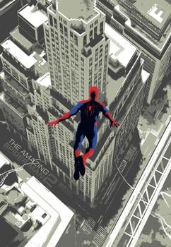 Постеры фильма «Новый Человек-паук: Высокое напряжение»