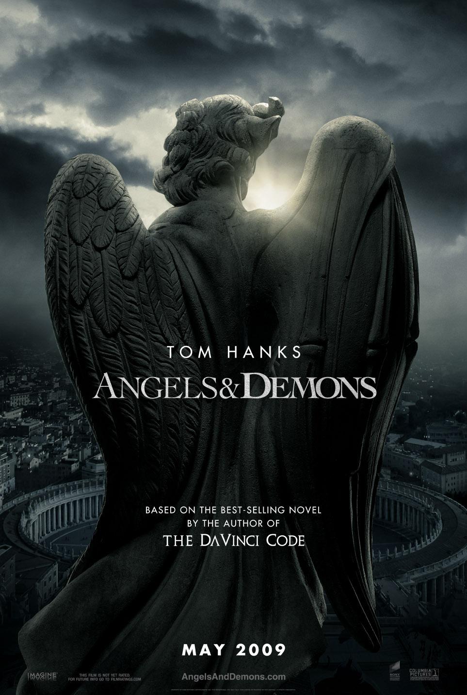 Ангелы и демоны, постер № 1