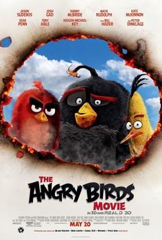Постеры фильма «Angry Birds в кино»