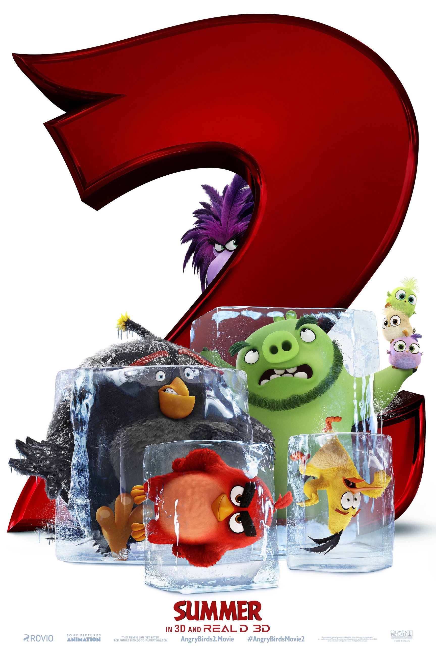 Angry Birds 2 в кино, постер № 1