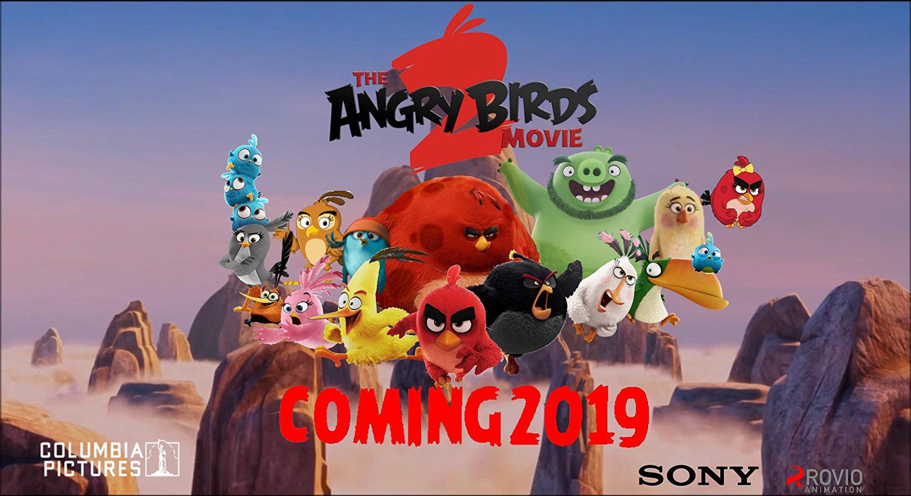 Angry Birds 2 в кино, постер № 2