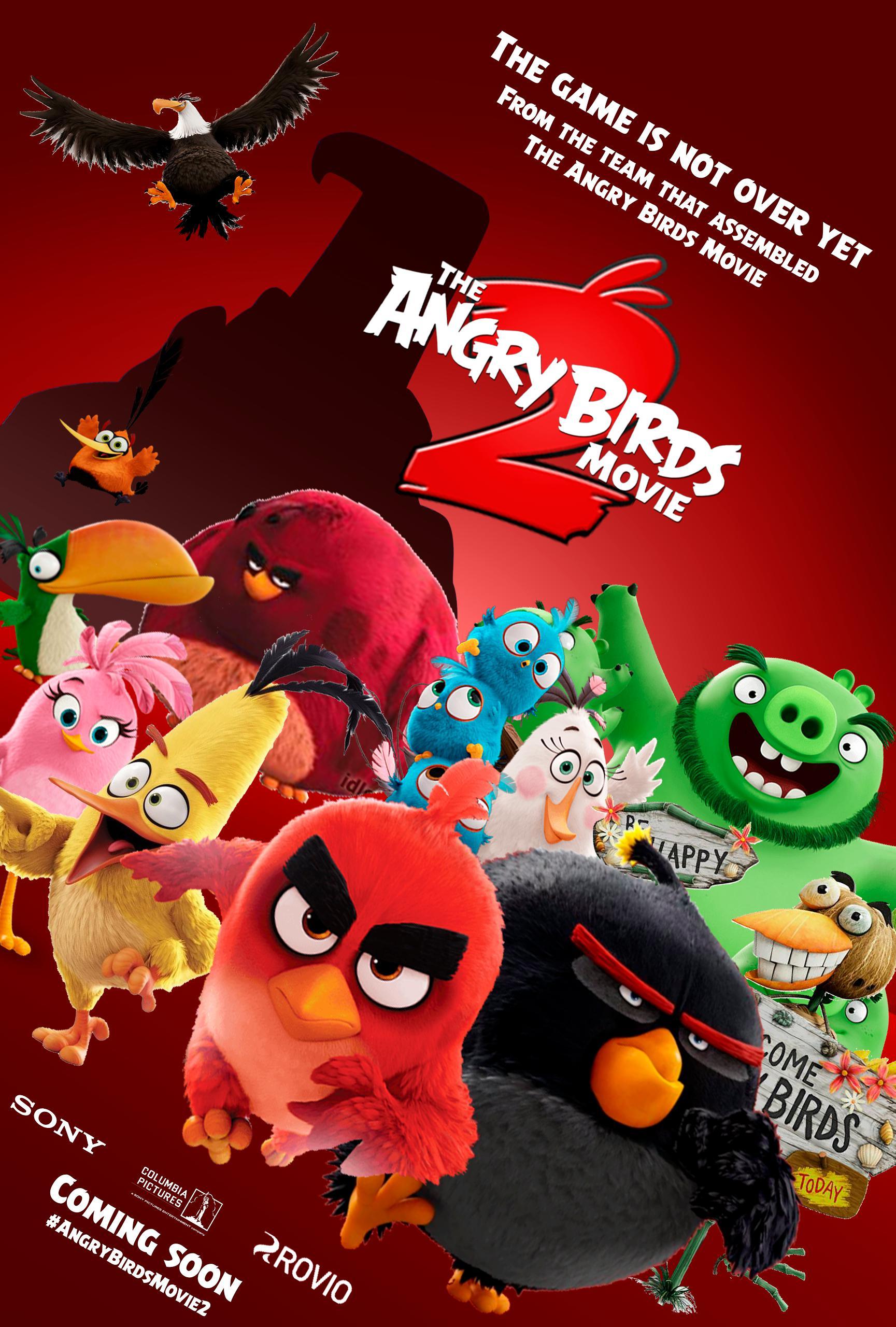Angry Birds 2 в кино, постер № 3