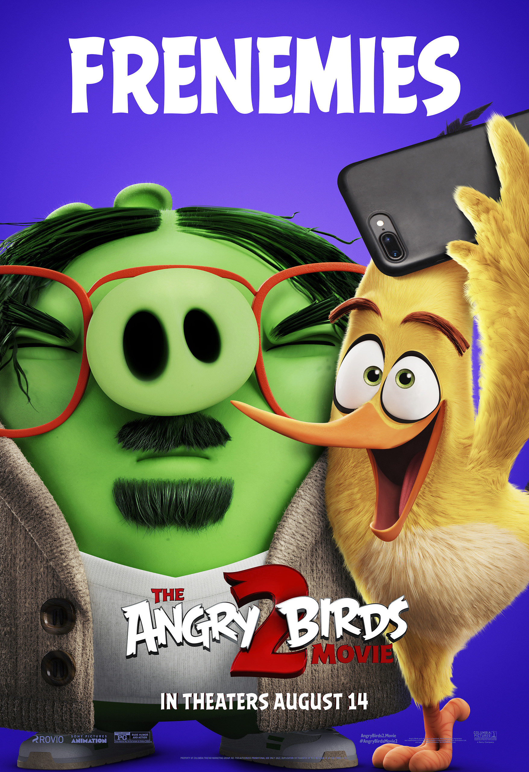 Angry Birds 2 в кино, постер № 30