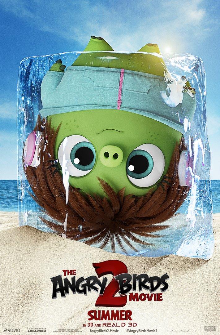 Angry Birds 2 в кино, постер № 8