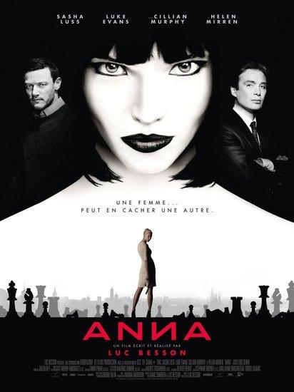 Постеры фильма «Анна»