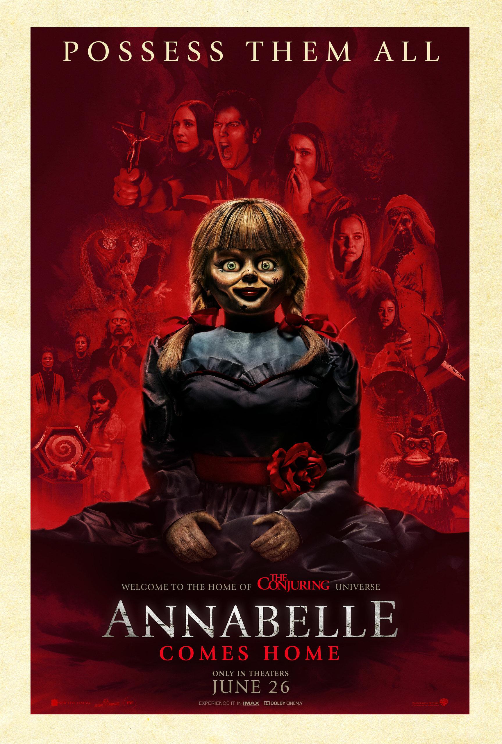 Проклятие Аннабель 3, постер № 5
