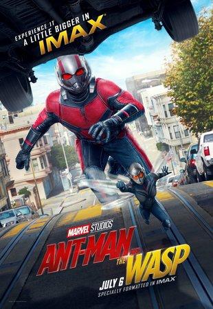 Постеры фильма «Человек-муравей и Оса»