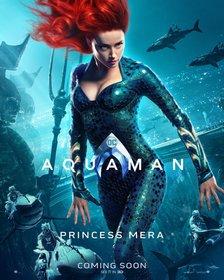 Постеры фильма «Аквамен»