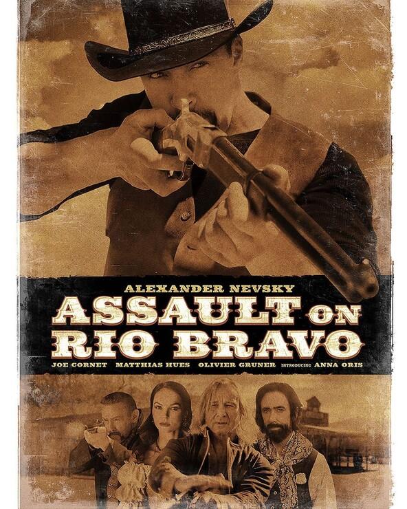 Постеры фильма «Нападение на Рио Браво»
