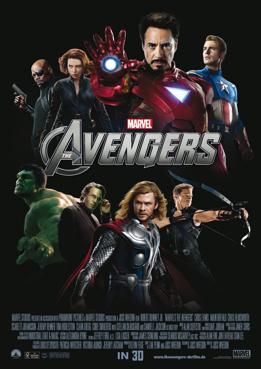 Мстители, постер № 41