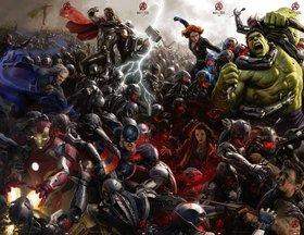 Постеры фильма «Мстители: Эра Альтрона»