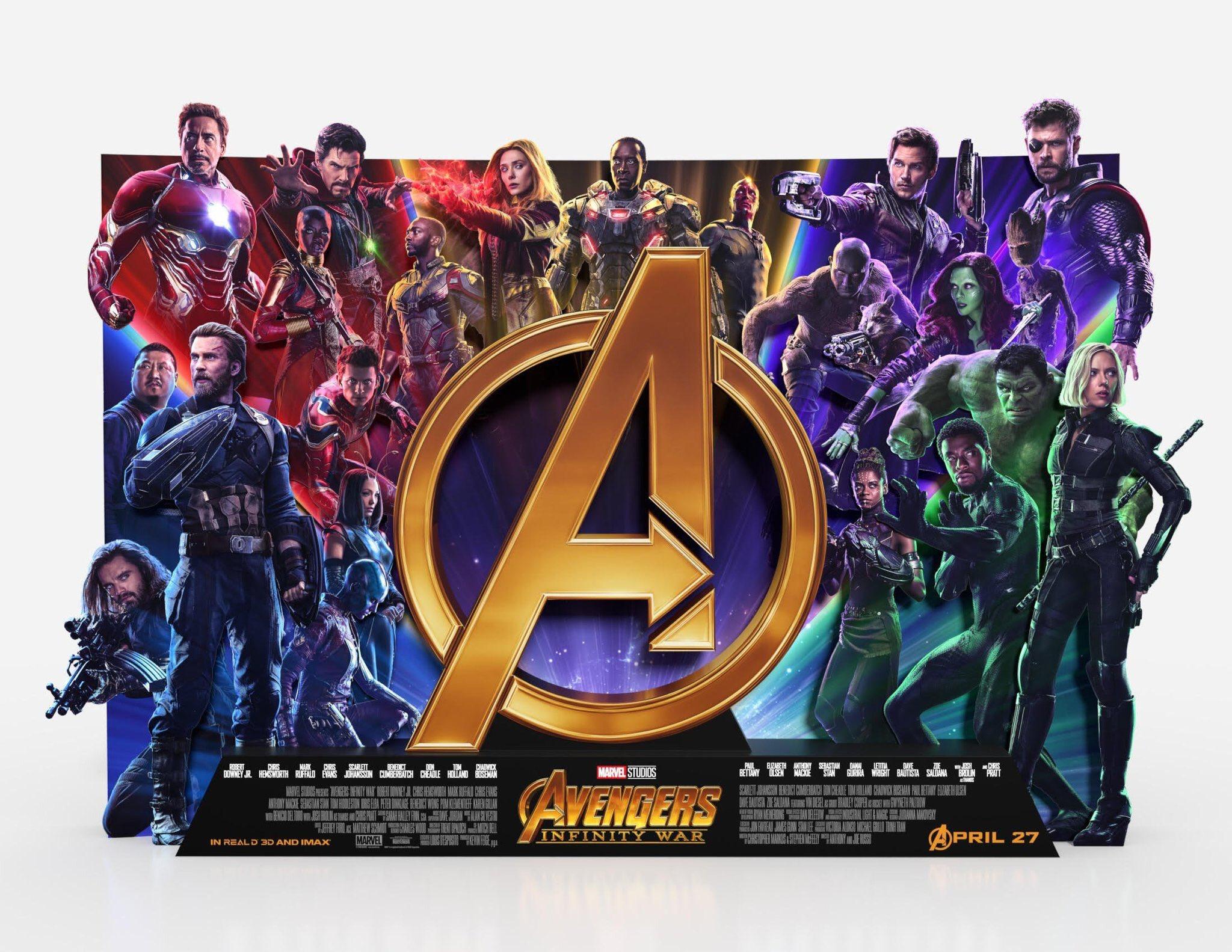 Мстители: Война бесконечности, постер № 19