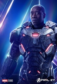 Постеры фильма «Мстители: Война бесконечности»