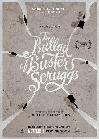 Постеры фильма «Баллада Бастера Скраггса»