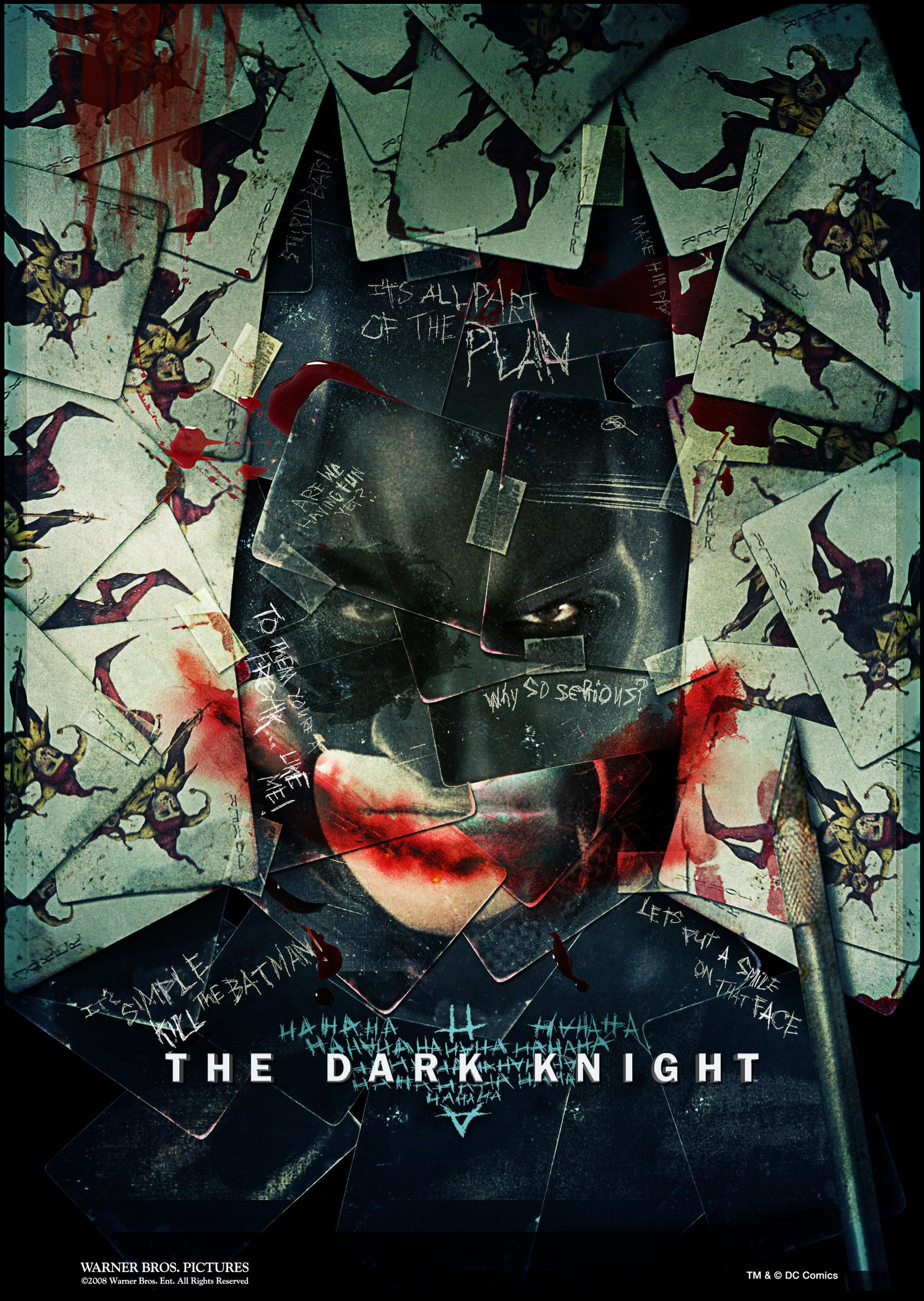 Тёмный рыцарь, постер № 16