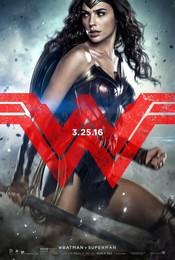 Постеры фильма «Бэтмен против Супермена»
