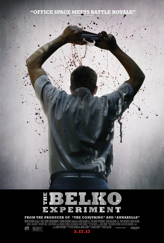 Эксперимент Belko,  № 1
