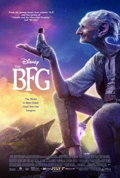 Постеры фильма «Большой и добрый великан»