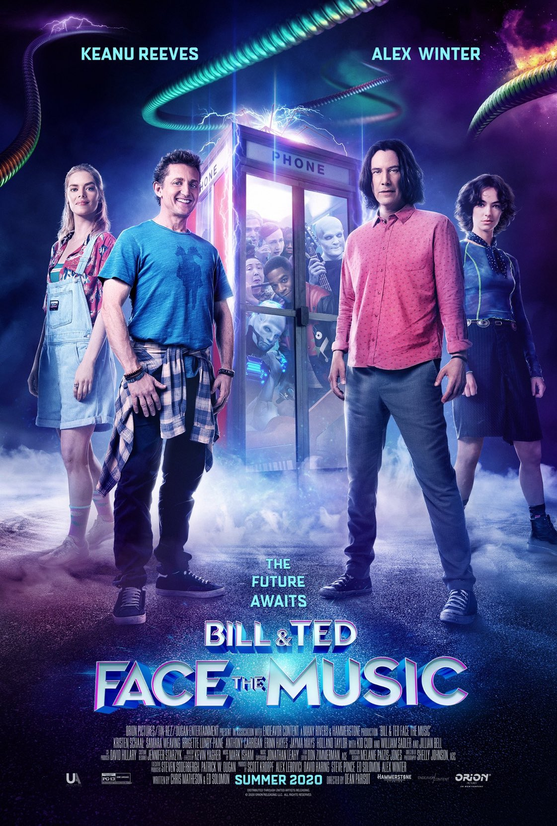 Билл и Тед, постер № 4