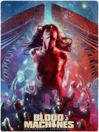 Постеры фильма «Кровь машин»