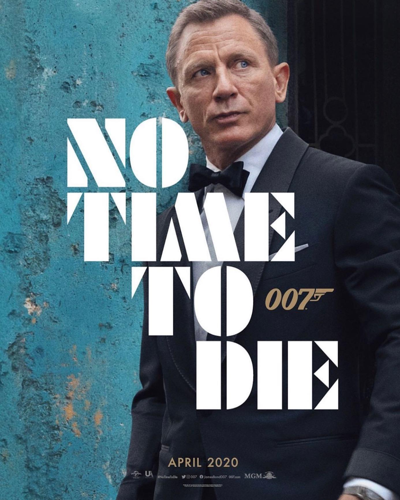 007: Не время умирать, постер № 2