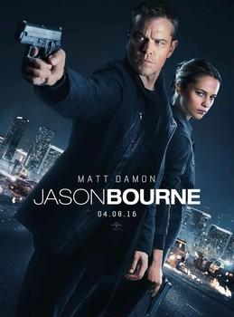Постеры фильма «Джейсон Борн»