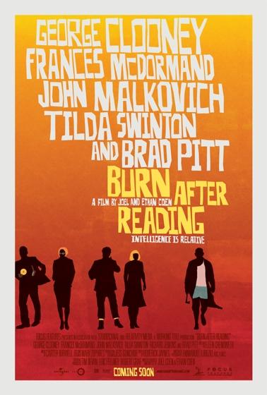 После прочтения сжечь, постер № 5