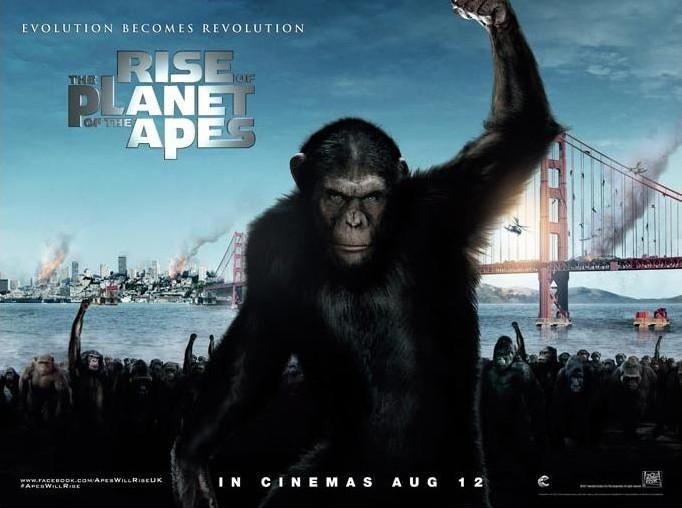 Восстание планеты обезьян, постер № 1