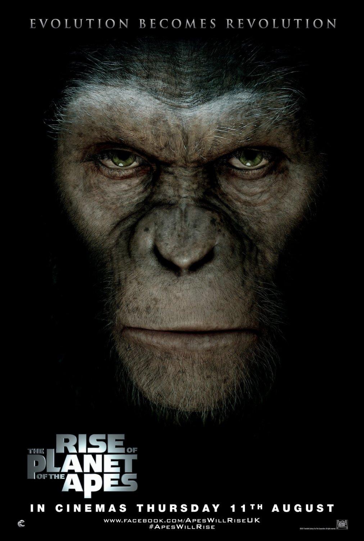 Восстание планеты обезьян, постер № 3