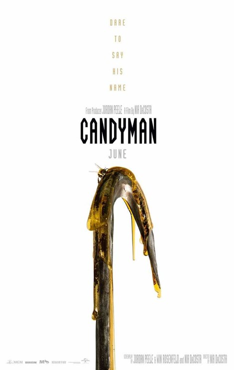 Постеры фильма «Кэндимен»