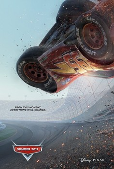 Постеры фильма «Тачки 3»