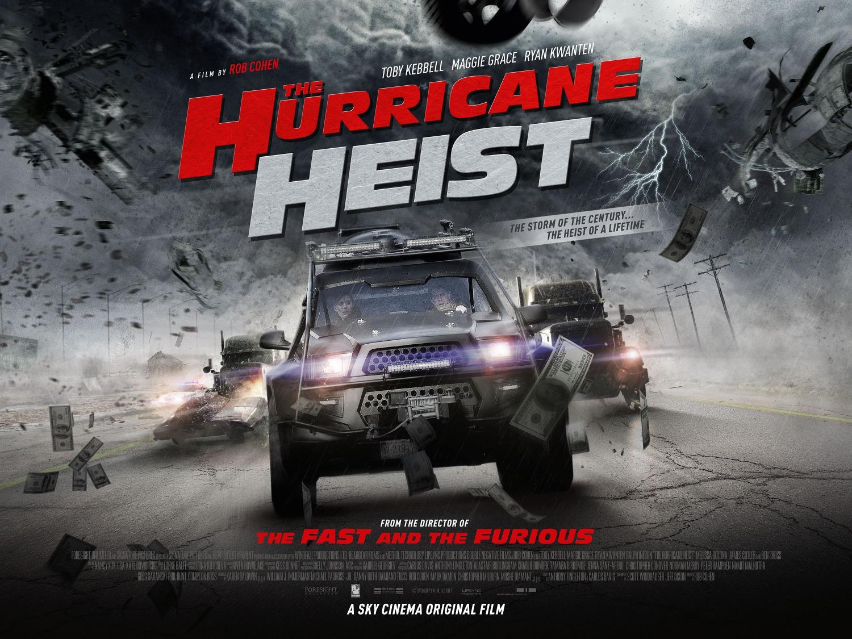 Ограбление в ураган, постер № 8