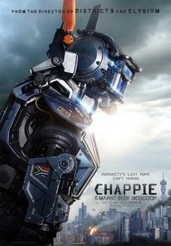 Постеры фильма «Робот по имени Чаппи»