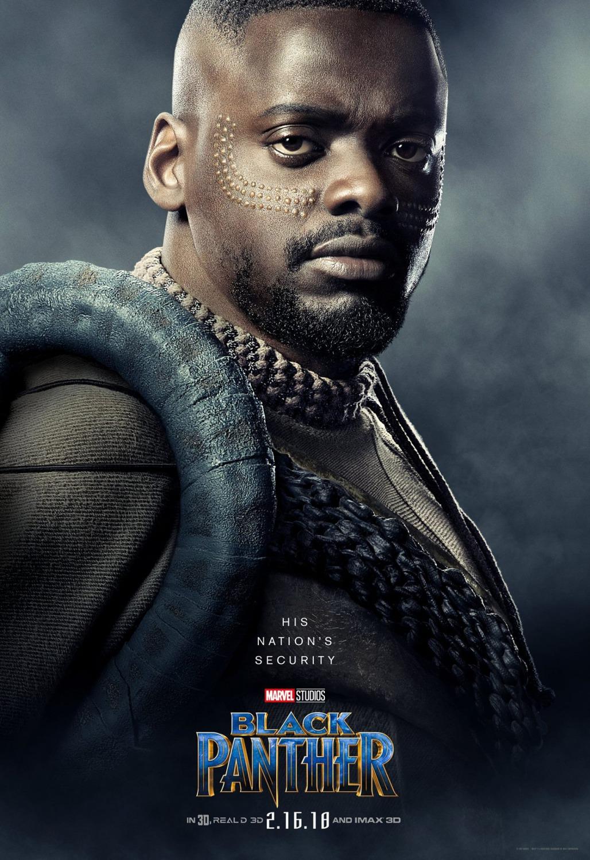 Чёрная Пантера, постер № 10