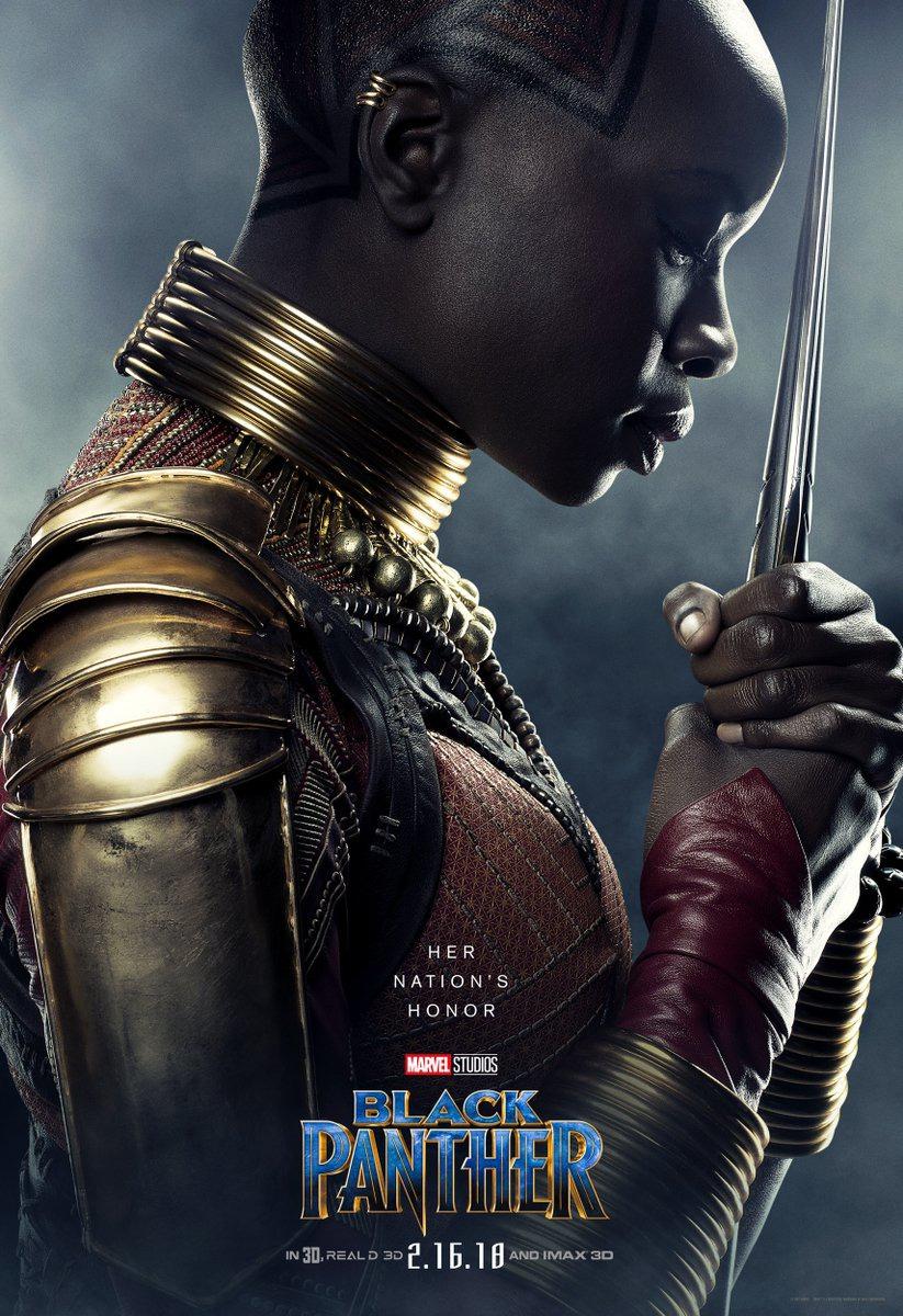 Чёрная Пантера, постер № 12