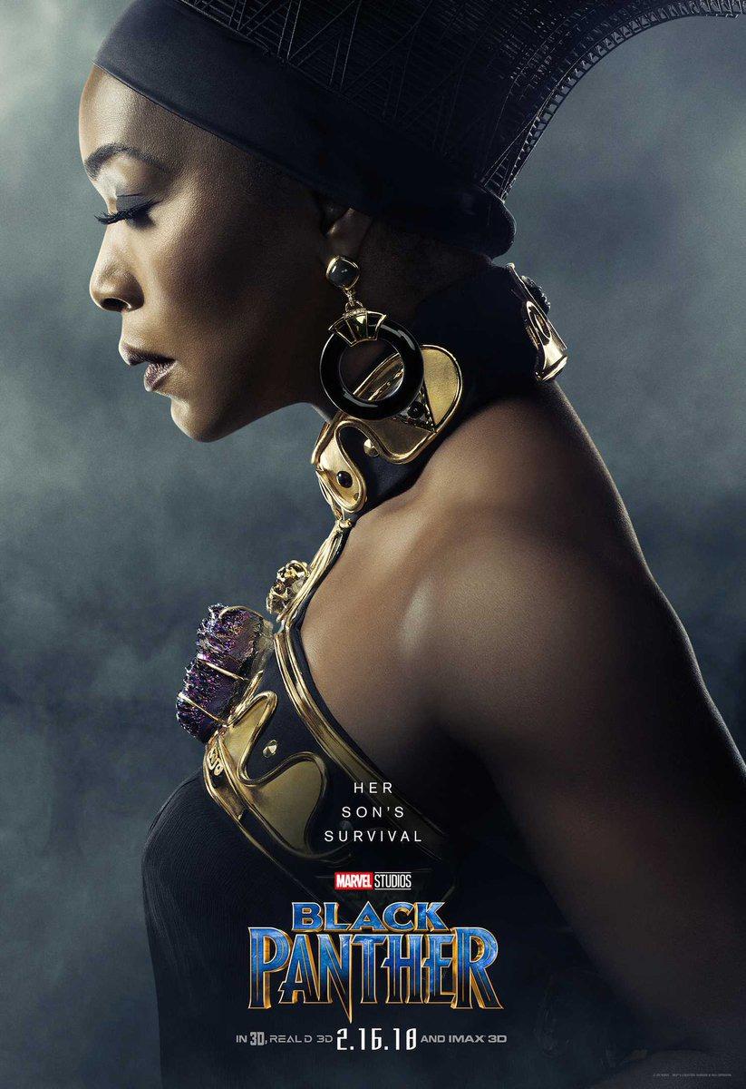 Чёрная Пантера, постер № 14