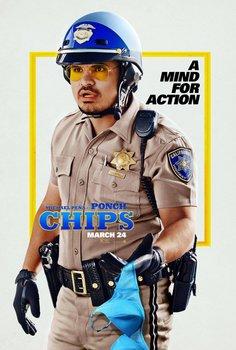 Постеры фильма «Калифорнийский дорожный патруль»
