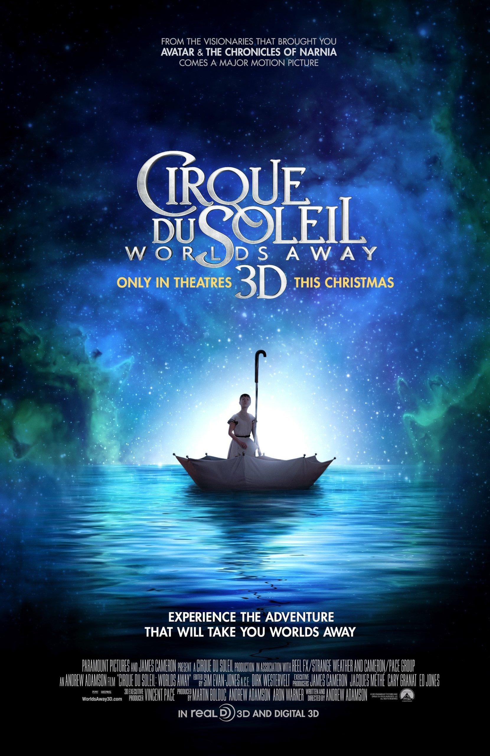 Цирк дю Солей: Сказочный мир в 3D / Cirque du Soleil: Worlds Away (2012) - онлайн
