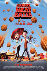 «Облачно, возможны осадки в виде фрикаделек» (Cloudy with a Chance of Meatballs)