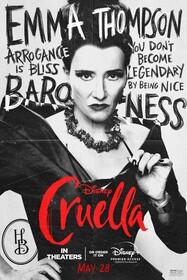 Постеры фильма «Круэлла»