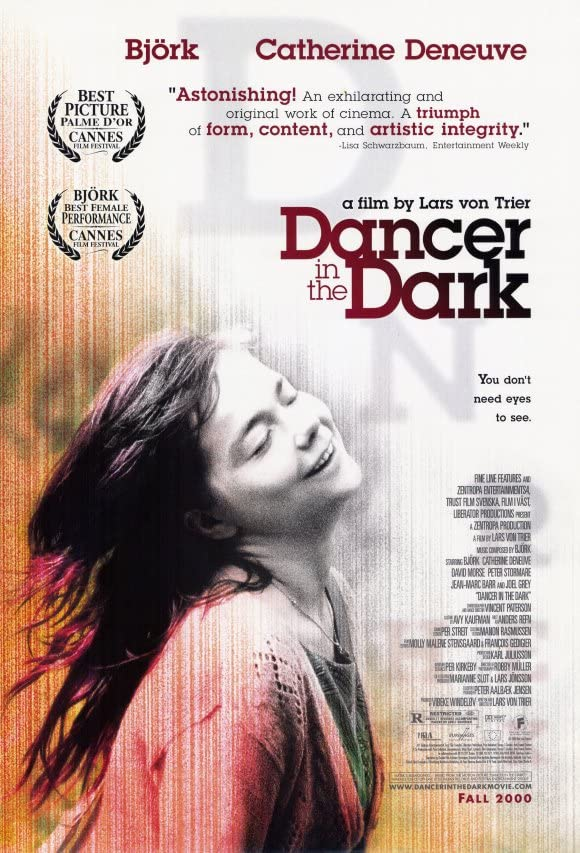 Танцующая в темноте, постер № 1