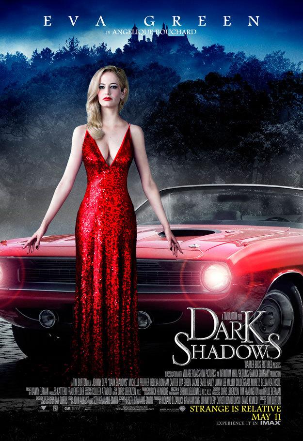 Мрачные тени, постер № 12