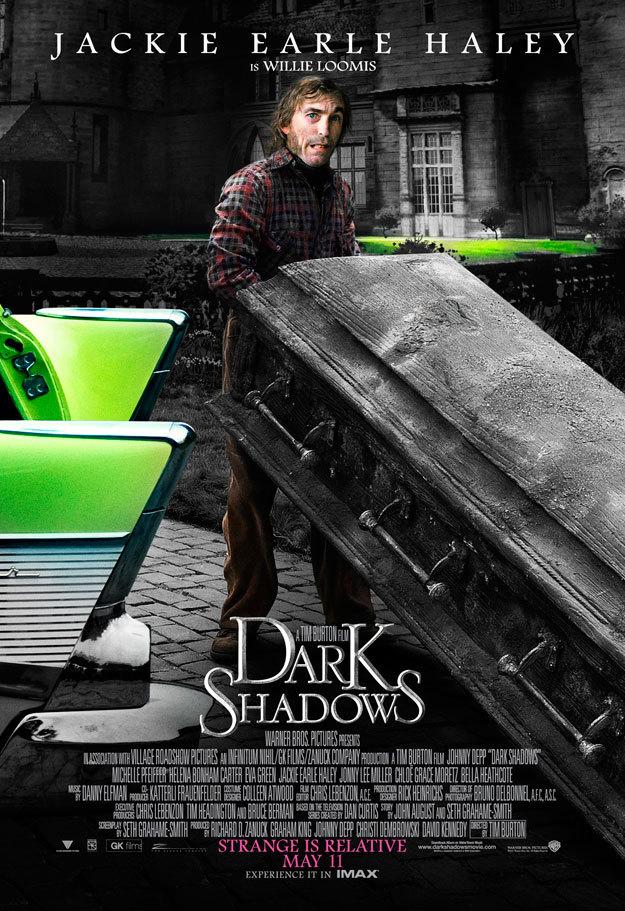 Мрачные тени, постер № 17