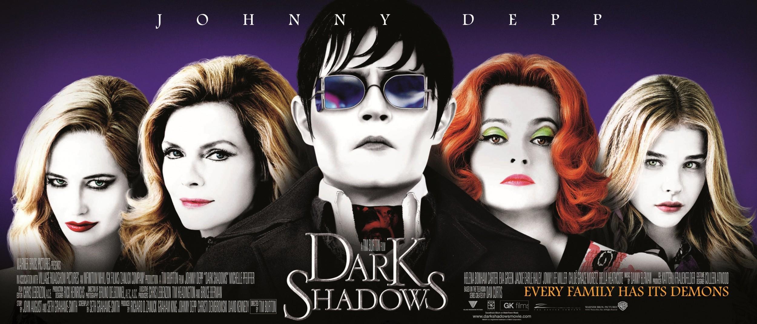 Мрачные тени (2012) смотреть онлайн бесплатно