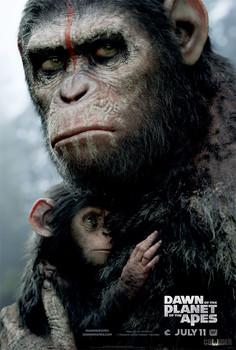Постеры фильма «Планета обезьян: Революция»